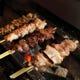 ◆地鶏はつくば鶏を仕入。炭の薫り高い串を丁寧に仕上げます。