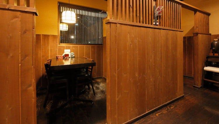 お食事やお集まりに最適な上質空間