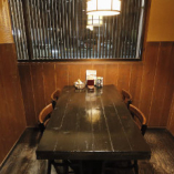 《テーブル個室》少人数からご利用可能な上質空間(2〜4名様×4室、2名様×1室)