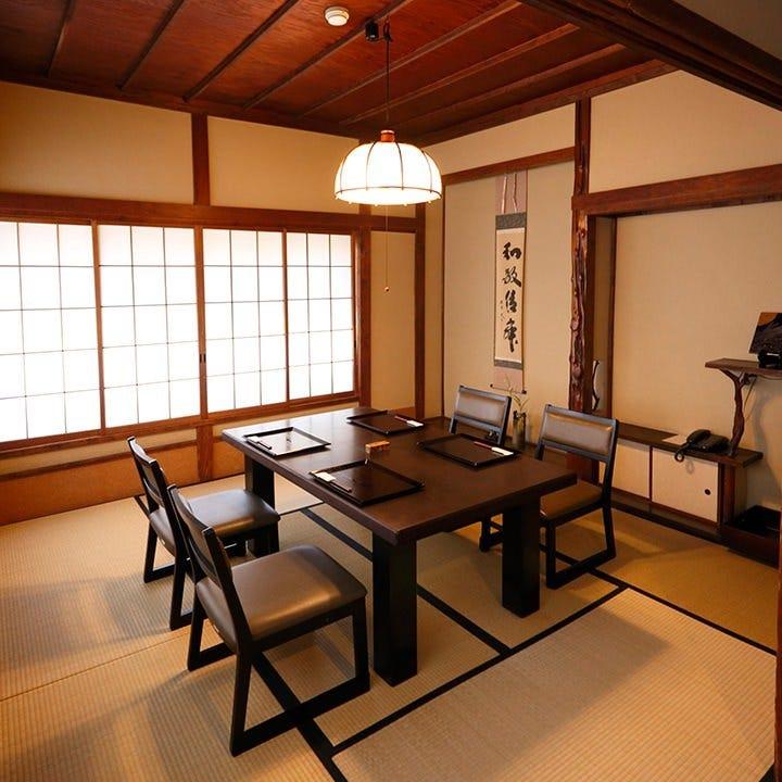 2階「個室」昭和13年に温泉宿としてリノベーションした部屋。