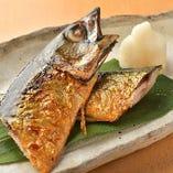【逸品】 脂のり抜群の金華鯖を火入れにこだわる炭火焼きで