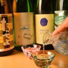 東北の地酒をメインに利き酒師が厳選