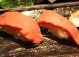 ◇石垣牛のあぶり寿司◇
