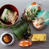 季節の旬の食材をふんだんに使用こだわった板前による本格和食