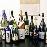 オリジナルから銘酒まで揃う、豊富な日本酒メニュー