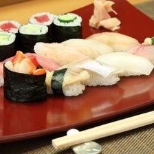 四季折々の旬が楽しめる加賀寿司