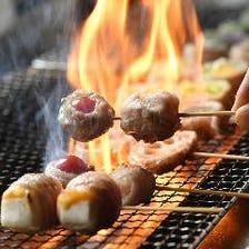 鹿児島の天恵美豚と野菜が主役の串焼