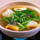 独自の調理法で仕上げたすっぽんスープが絶品