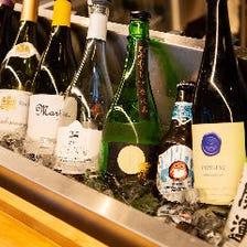 ワインを始めドリンクも豊富