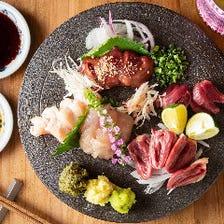 博多地鶏を使用した絶品料理