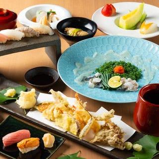 天ぷら旬和食 あきら  コースの画像