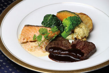 ホテル広島サンプラザ レストラン クレセント  メニューの画像