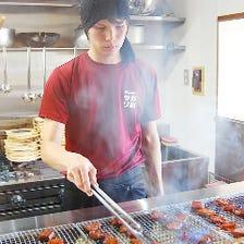 経験豊富な料理人が焼き上げます!