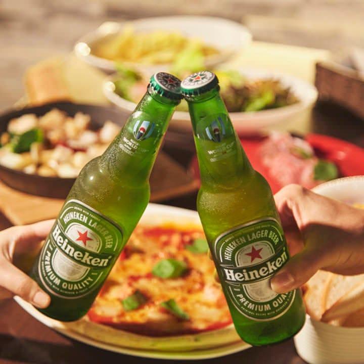 【カフェ&バータイム】生ビール等ドリンク2杯&フード一品付お得セット