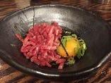 新鮮なお肉を活かした一品料理も、お楽しみいただけます◎