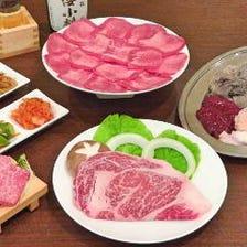 飲み放題付きコース3980円(税抜)~