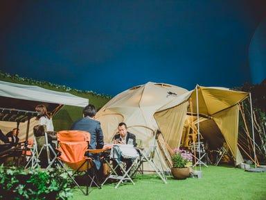 """ノルベサ BEER GARDEN & BBQ """"THE CAMP""""  店内の画像"""