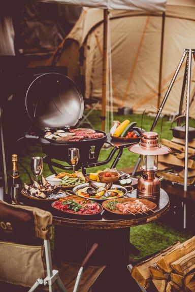 """ノルベサ BEER GARDEN & BBQ """"THE CAMP""""  こだわりの画像"""