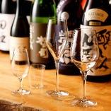 ◆季節限定の日本酒を多彩な酒器で御賞味いただけます。