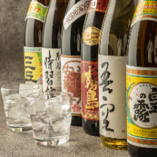 種類豊富な焼酎・地酒をご用意!