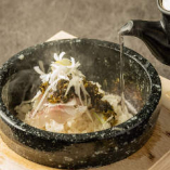 石焼高菜茶漬け 【鯛・明太子】