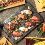 九州直送食材を使った創作和食をお愉しみ下さい。地酒も種類豊富