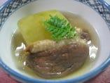 冬瓜と合鴨の炊き合わせ