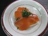 懐石コースの前菜、