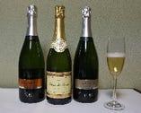 幹事の方に朗報!歓送迎会のお客様にスパークリングワイン1本または、花束をお店からプレゼント!