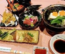 湯豆腐ランチ会席お一人様2580円
