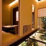 【さくら/かえでの間】高級感あふれる掘りごたつ席完全個室(1~4名様×2部屋)