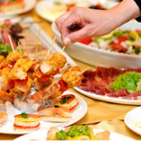 ビュッフェ形式の食べ放題&飲み放題『貸切パーティープラン』