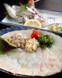 鮮度にも拘り。刺身も大満足! オリジナル料理も有。
