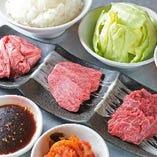 【人気】昭和肉盛りランチ