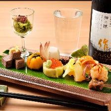 【当日可能】伊勢志摩・熊野灘の鮮魚もふんだんに『ご予約不要 宴席コース7,000円(税抜)』全9品