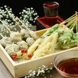 厳選された素材を味わう【本格天ぷらと創作和食】◆豊富に選べる和モダン個室空間でご賞味下さい。