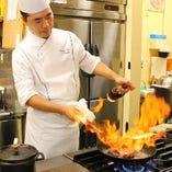 ◆シェフ鈴木の料理を堪能できるコース料理は2,700円~ご用意