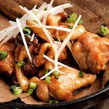 熟成鶏のアーモンド味噌焼き ~36時間漬け~