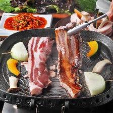 4つのソースで韓国定番の味を満喫