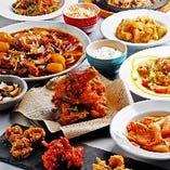 多彩な韓国料理の中からきっと好みの味が見付かるはず♪
