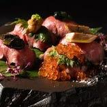 くずし肉割烹の渾身の料理をご賞味ください。