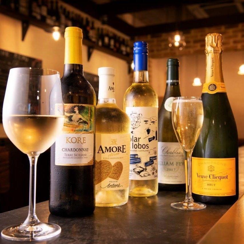 豊富なグラスワインをご用意しております!