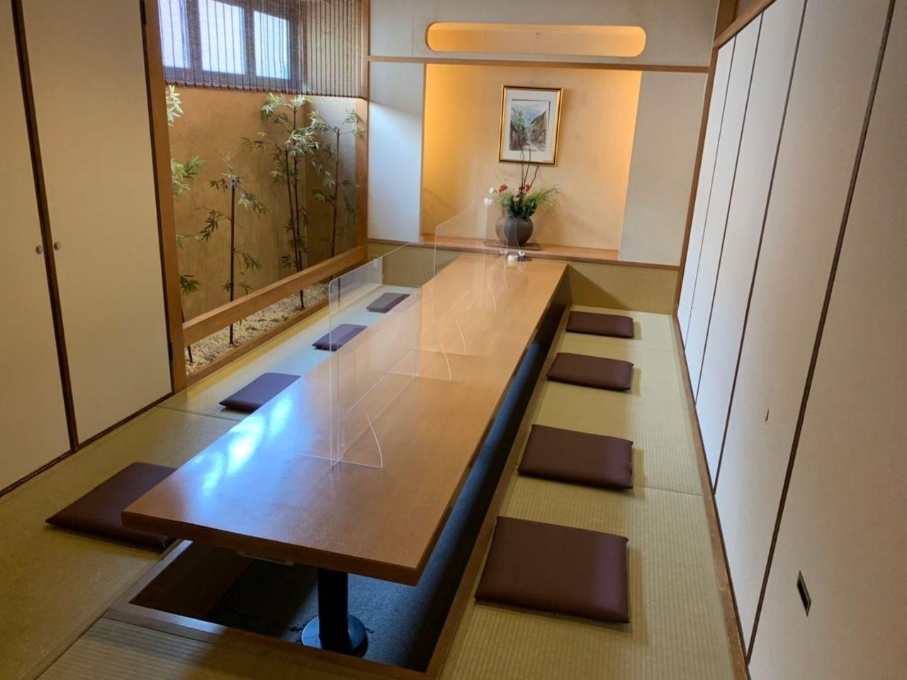 【接待・記念日】完全個室をご用意
