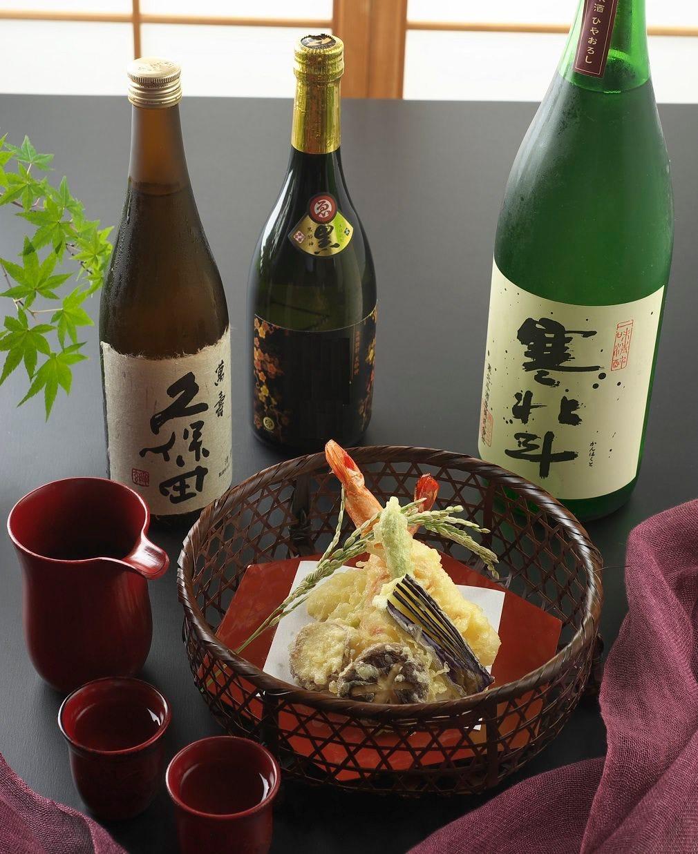 日本酒メニュー充実しています!