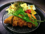 選べるメイン料理「霧島黒豚のとんかつ」四季の小懐石2,160円