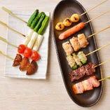 ベーコン巻き&野菜串 各種