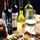ワイン酒場に来たのなら、やっぱりワインで盛り上がってみてはいかがですか?