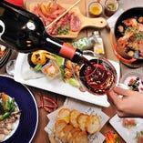 非日常である外食の魅力を存分に感じていただける最先端の料理達。
