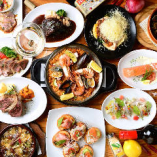 人気料理や限定料理で構成されたお得な季節替りのPARTYコース!