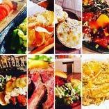 店内フロアではインスタ映え間違いないなしのオシャレで美味しいフードを沢山準備しております!リピ確の当店自慢の料理ゆっくりご堪能ください!